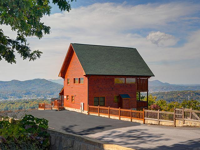 Heavenly view 2 br outrageous cabins sevierville tn for Heavenly view cabin sevierville tn