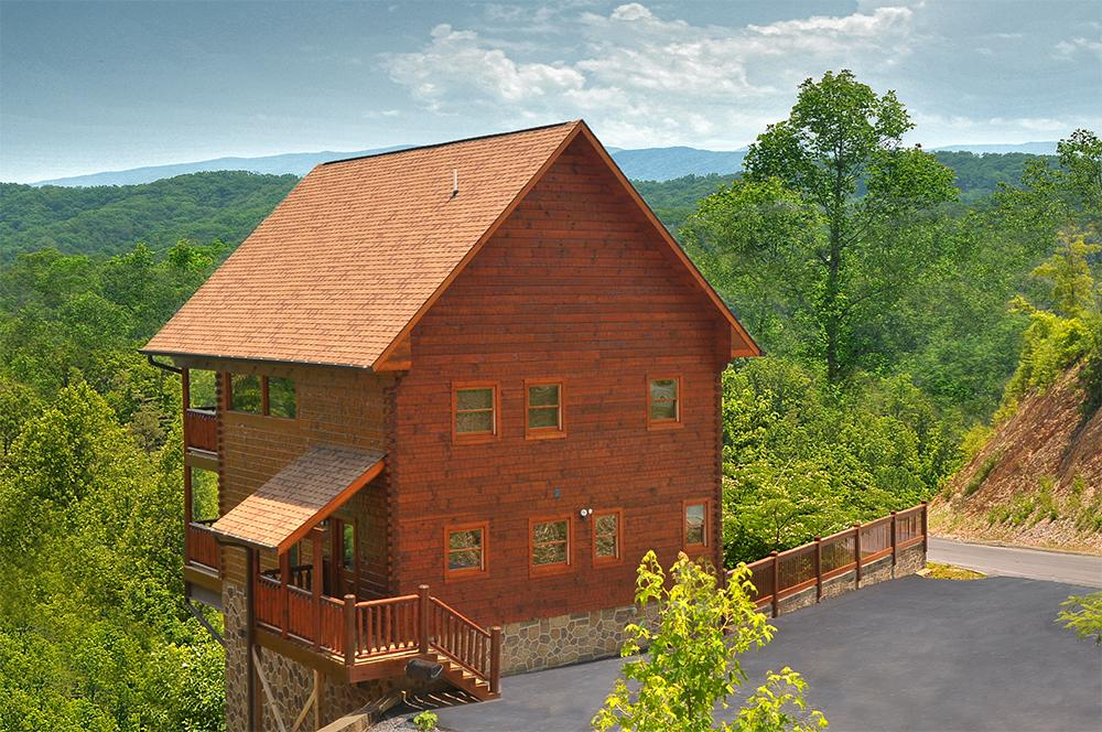 Smoky mountain dream 2 br outrageous cabins for Smoky mountain tennessee cabin rentals