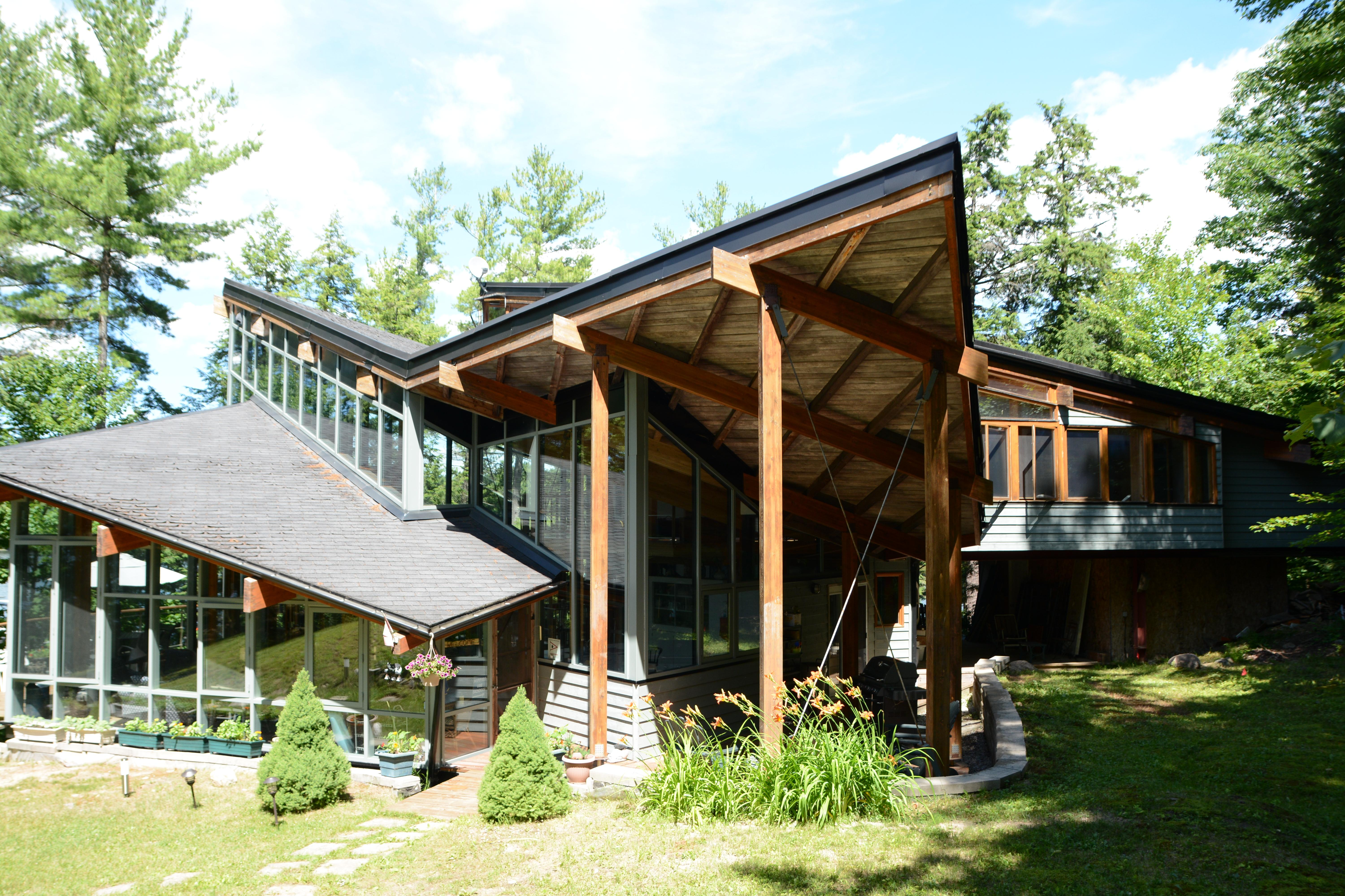 Rocklands Glass House Jaynes Cottages Luxury Muskoka Rentals