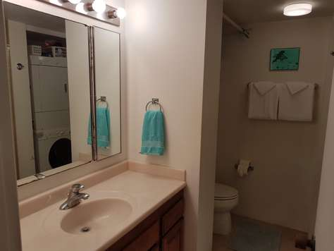 Master bath w/ large shower