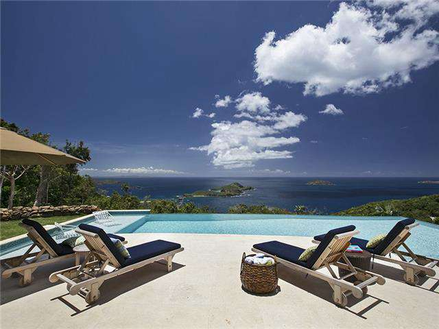 Unparalleled and breathtaking views from the infinity pool deck