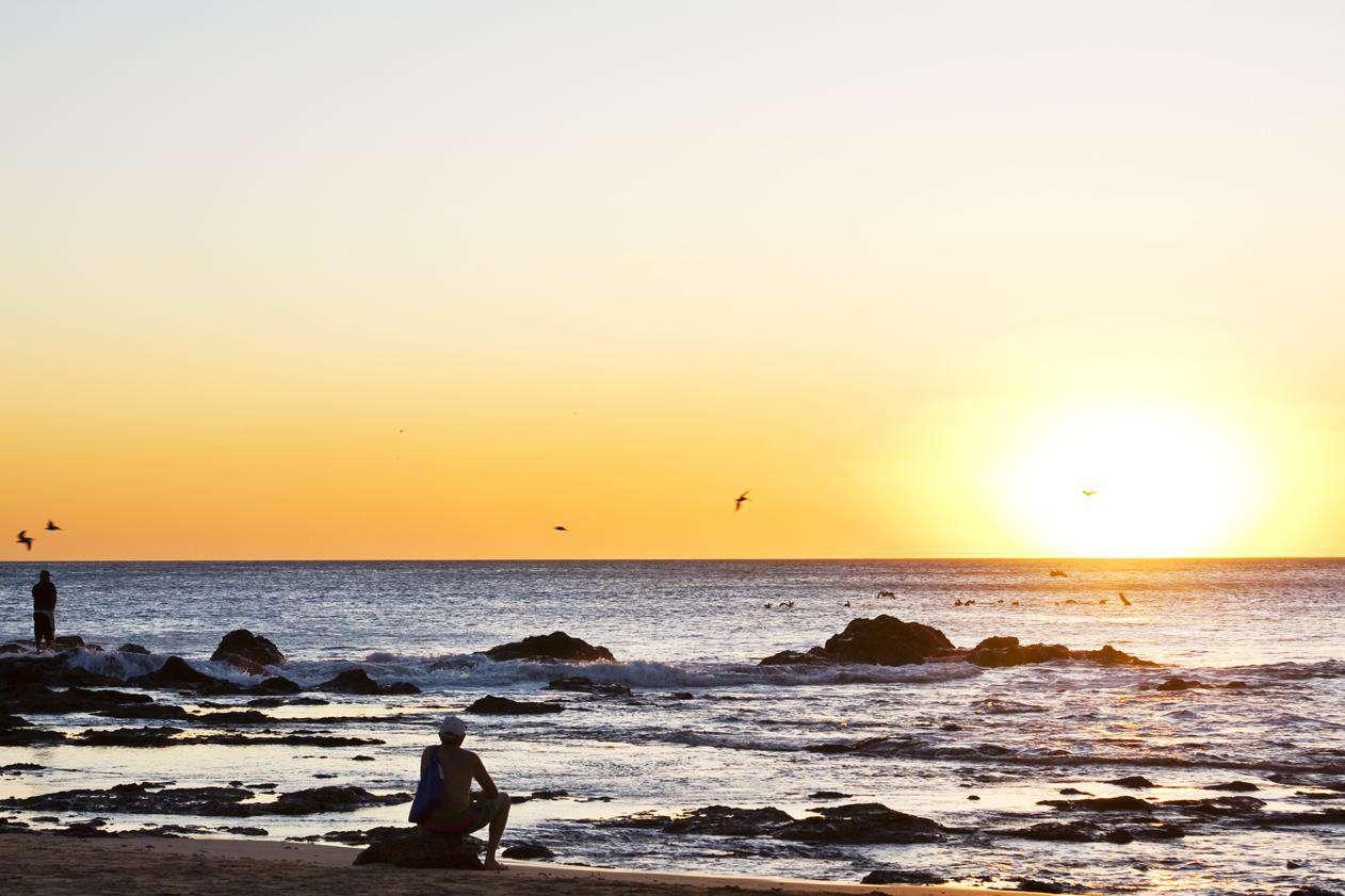 Amazing Tamarindo sunset