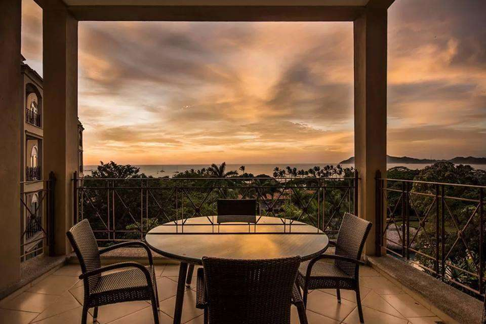 Incredible ocean views from the private balcony