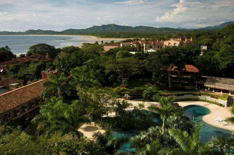 Ocean views, view of resort