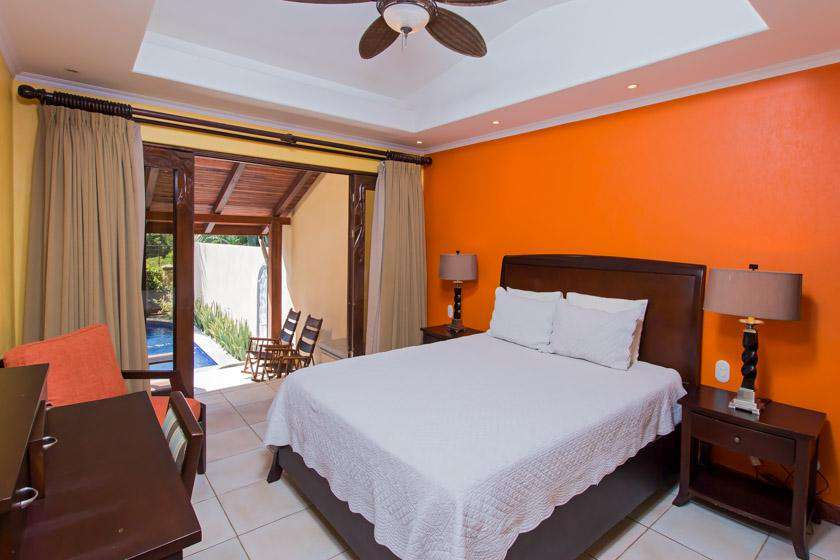 Guest suite, main level, access to pool