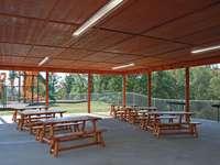 Starr Crest Resort Pavilion Seating & Grills thumb