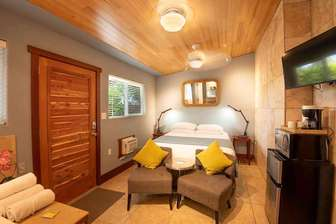 BAMBOO 2: bedroom #2, Queen bedding. thumb