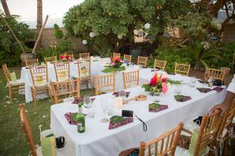 Custom party setup for a catered event thumb