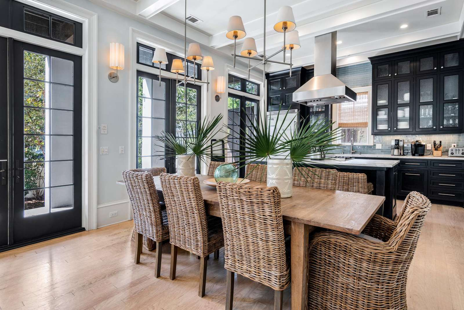 Dining Leads to Kitchen