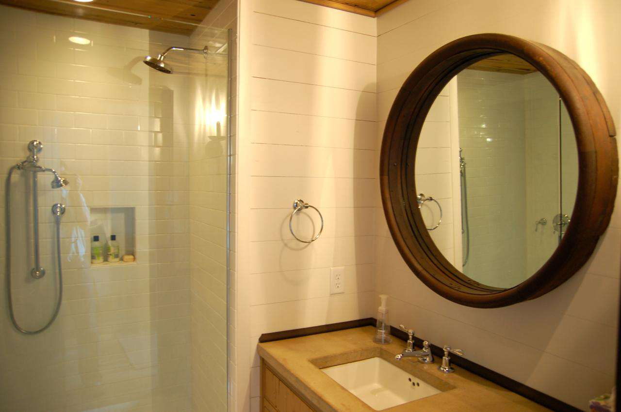 Large Bathroom located on Main Floor of Carriage House