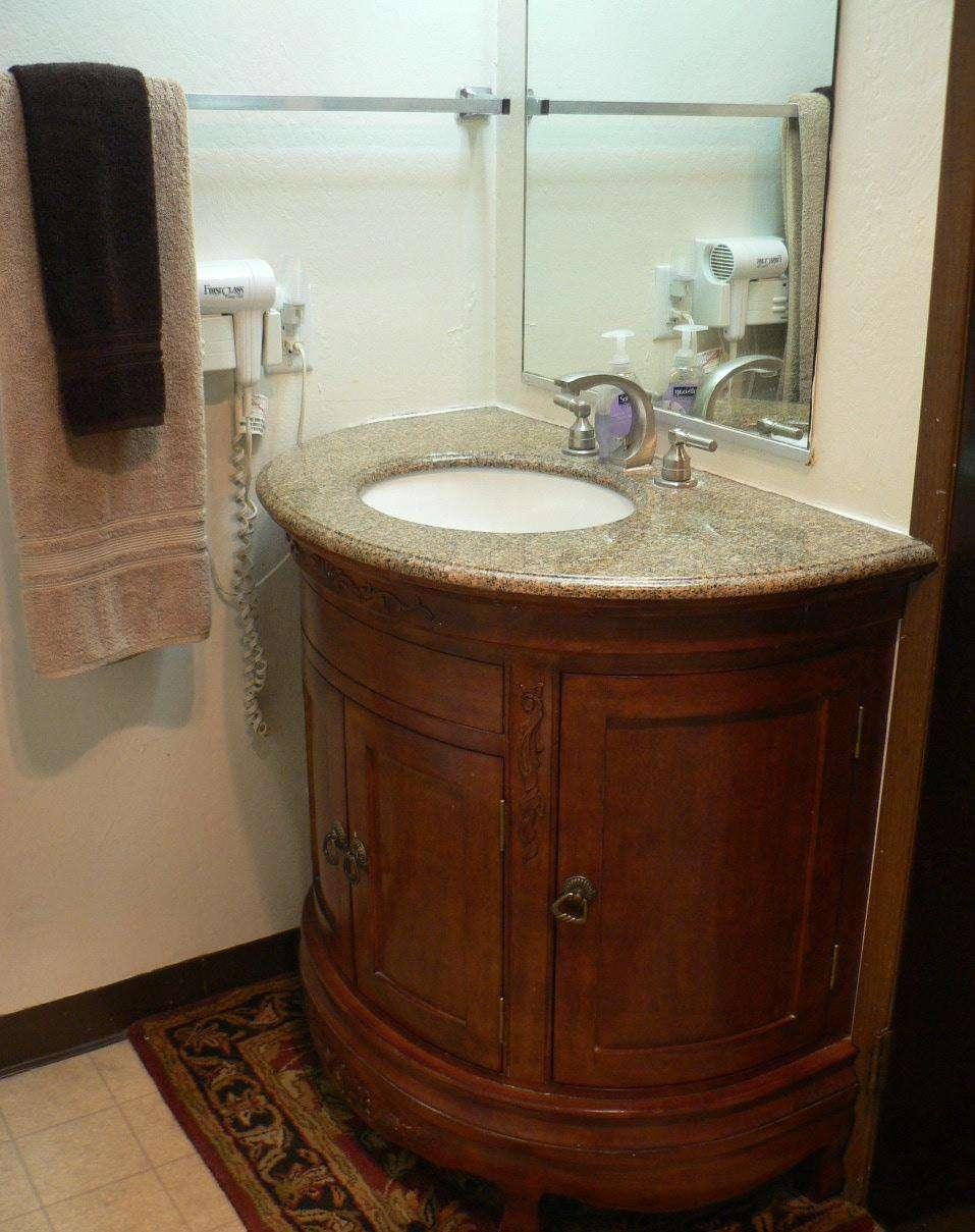 Bathroom + Shower/Tub