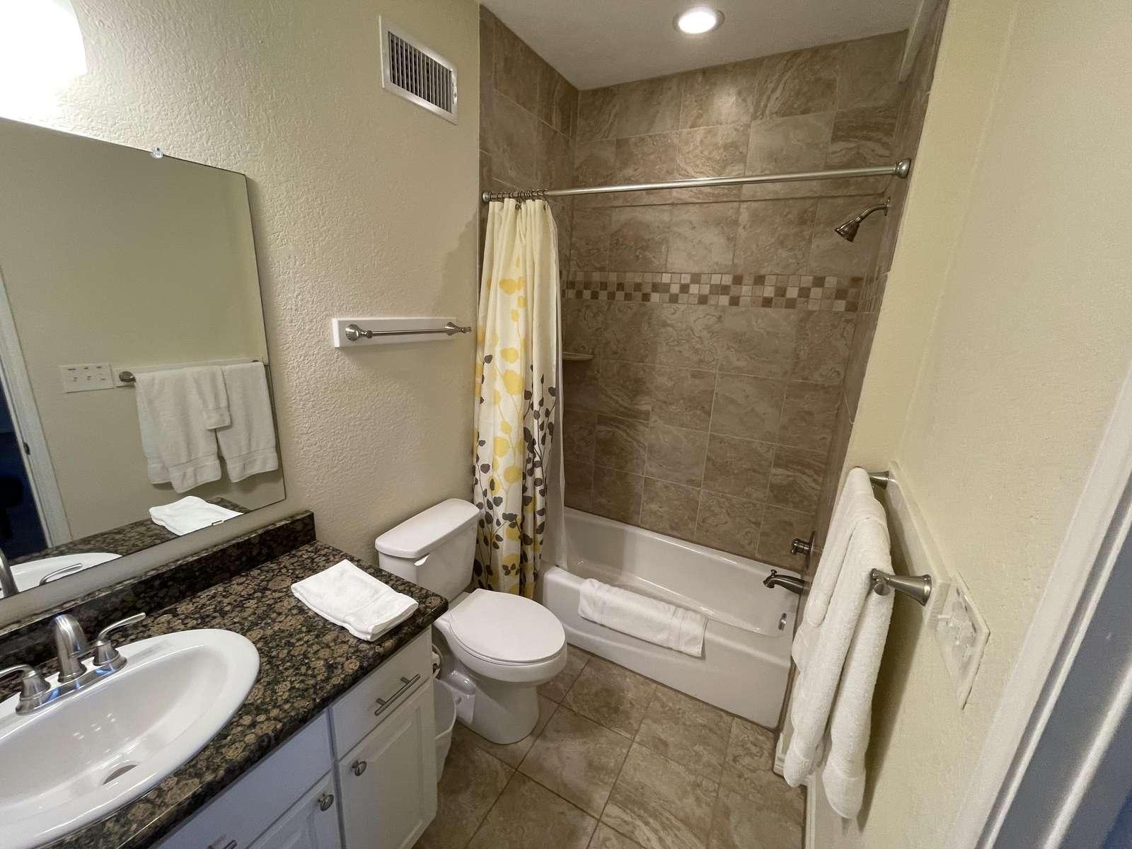 The gameroom bathroom.