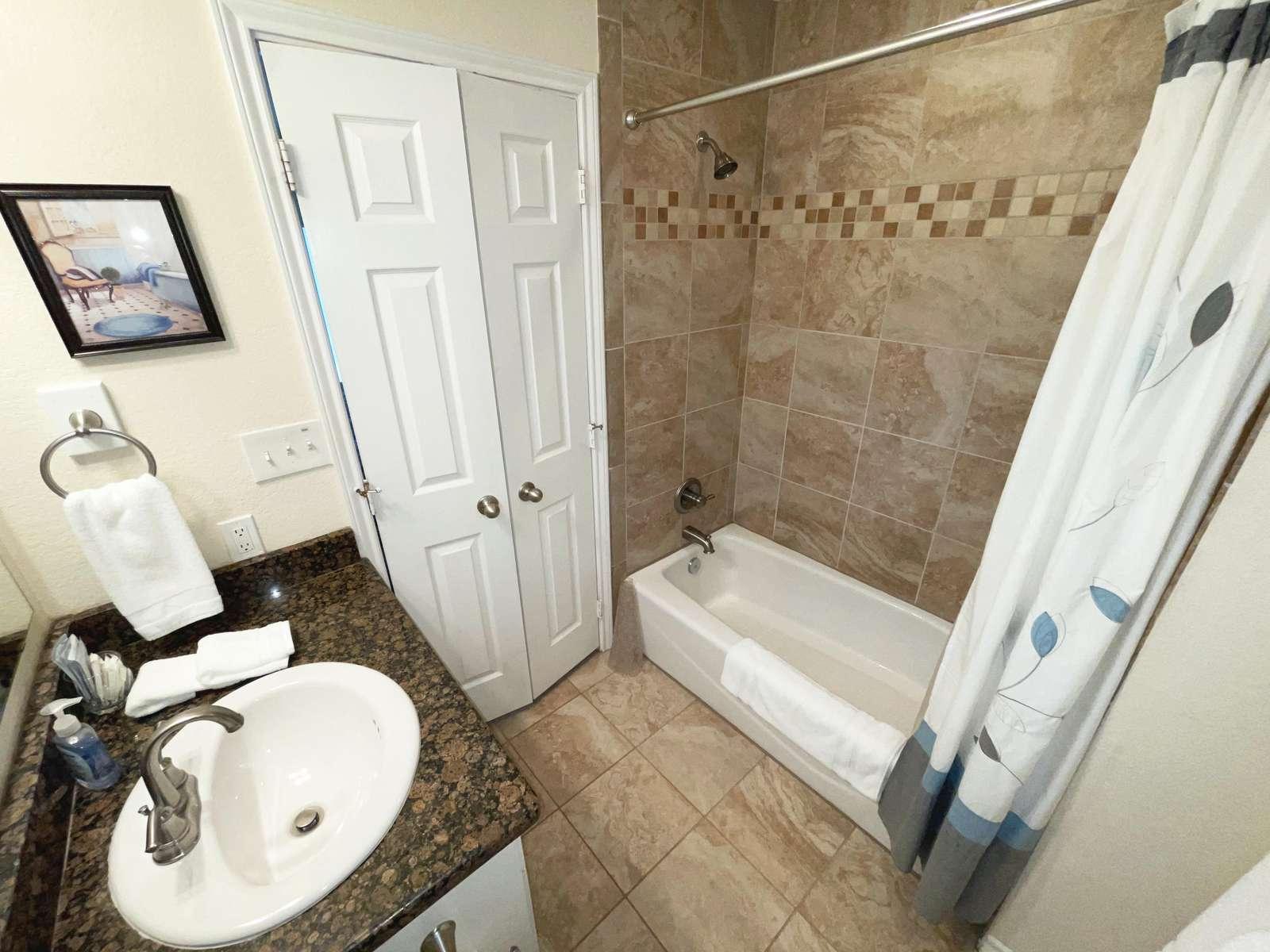 Bathroom for Master Bedroom #1