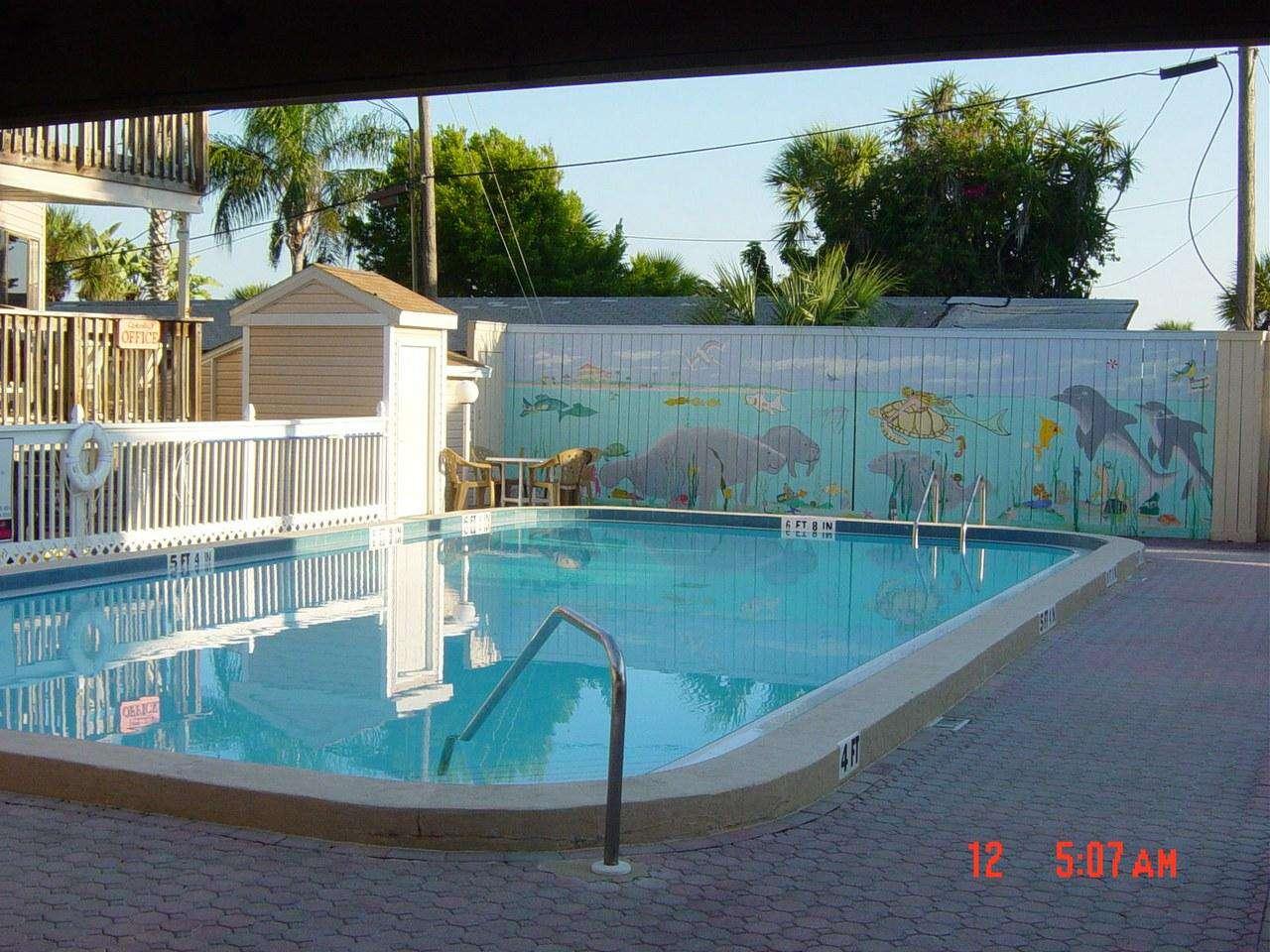 Castaways Heated Pool