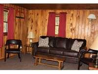 Living Room at Douglas Fir Cabin thumb
