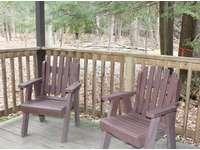 Back Porch at Douglas Fir Cabin thumb