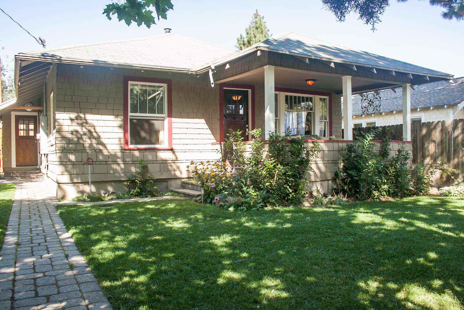 The Basalt Bungalow just steps to downtown Bend and many shops - property