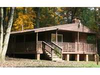 Fall at Hemlock Haven Cabin #3  thumb
