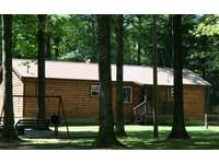Hidden Oaks Cabin - Front View thumb