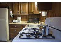 Fully equipped kitchen at Old Hickory Cabin. thumb