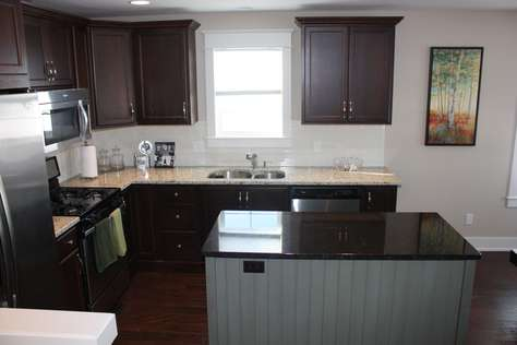 Spacious well equiped kitchen