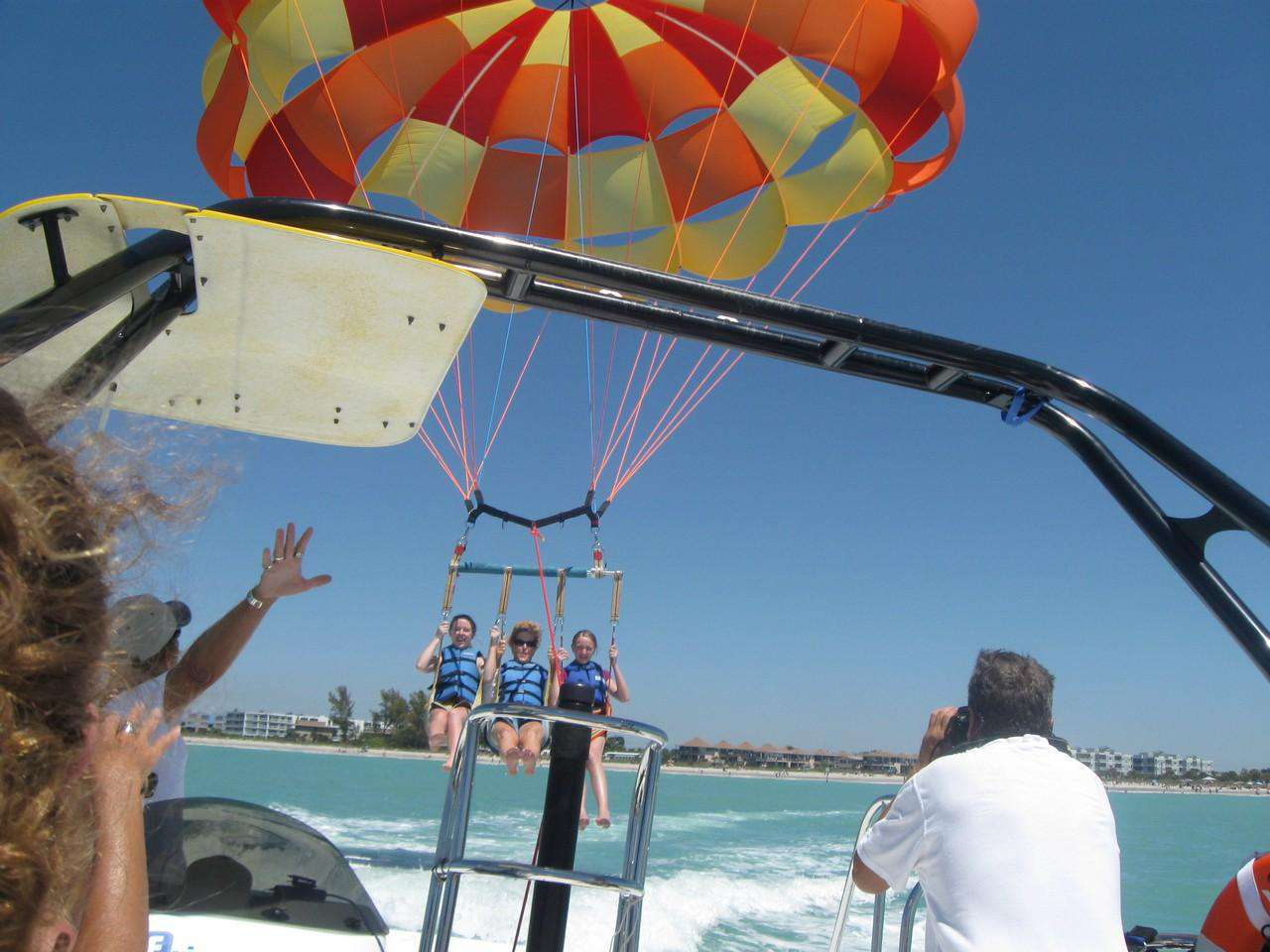 Activities - parasailing