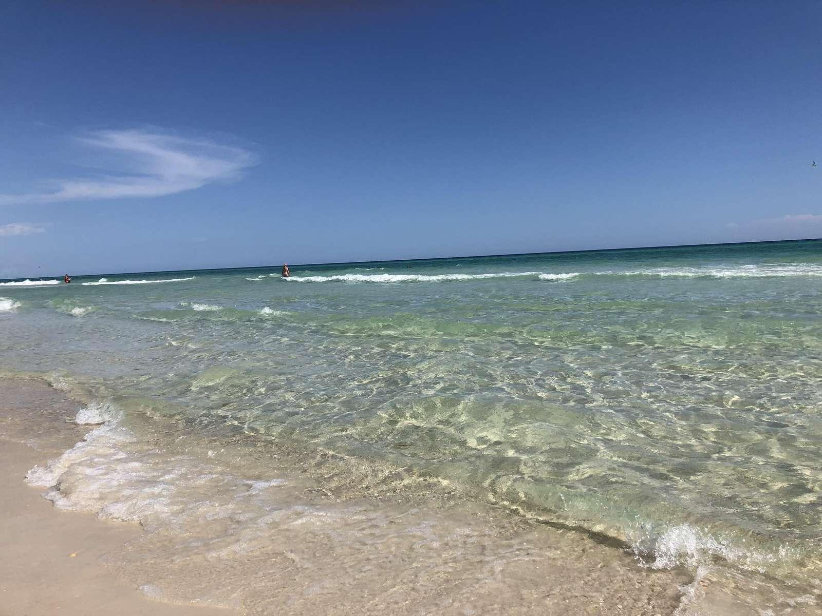 Beach behind corona Del Mar