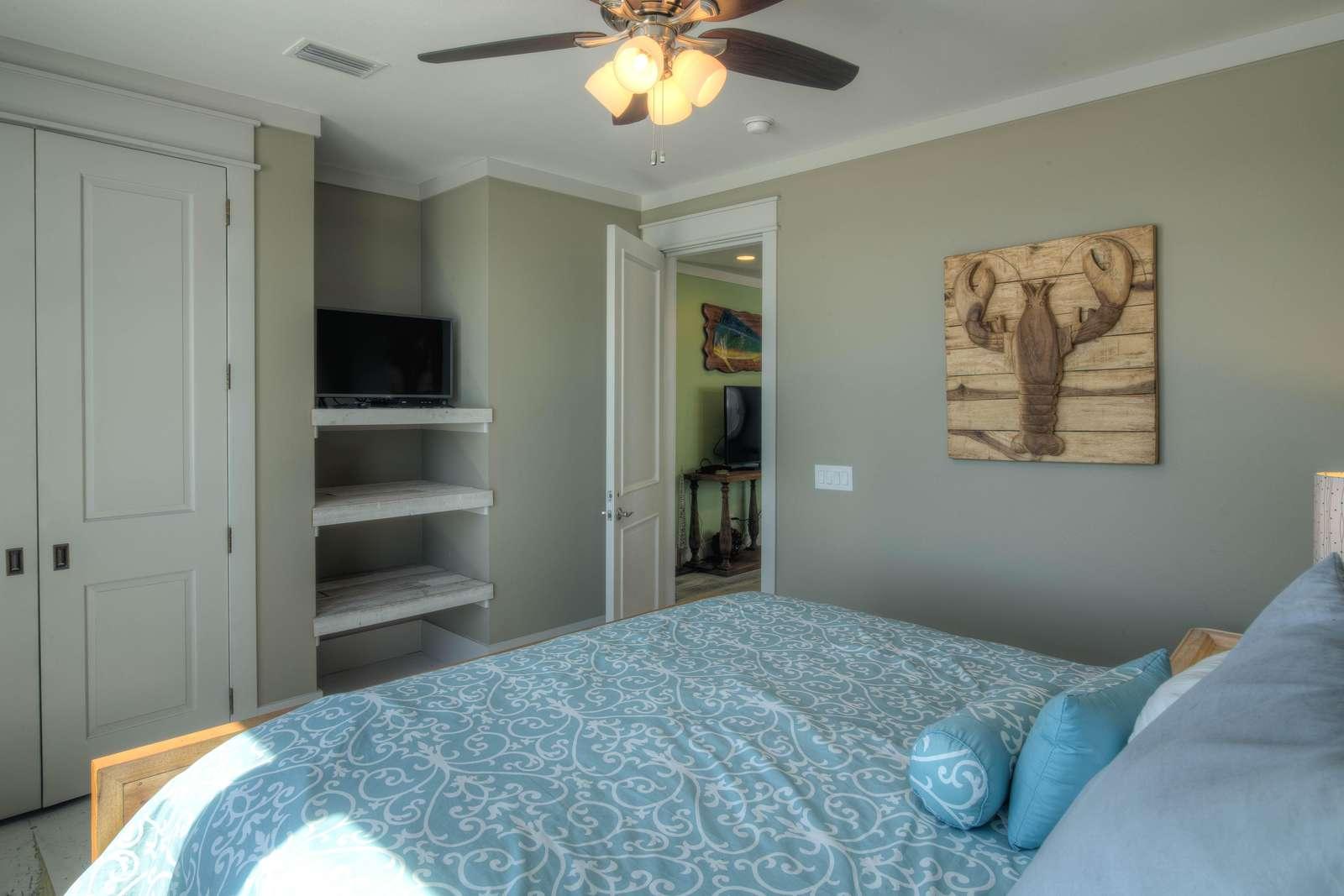 King Bedroom 3 - View 2