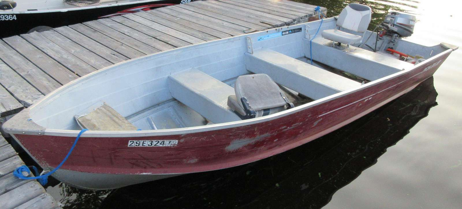 16ft Aluminum with 25hp