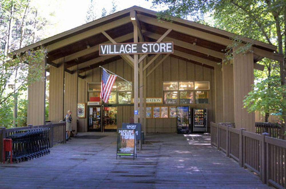 The village grocery store in the valley.
