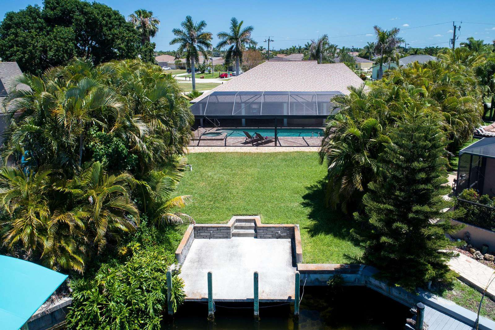 Wischis Florida Home - Ferienvilla Cape Coral- Treasure Island - Hausverwaltung - Immobilien