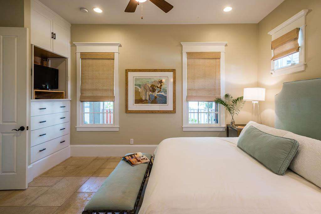 1st Floor King Bedroom with TV and Private Bath