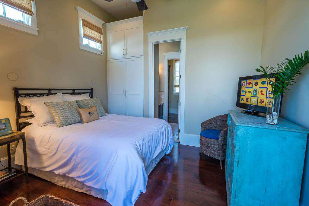 2nd Floor King Bedroom with TV and Private Bath