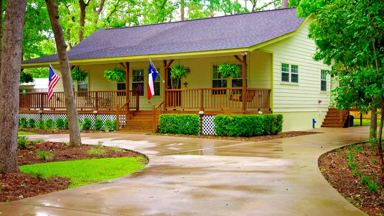 The ever popular and beautiful Gregory home.  3 large bedrooms, dock and the ever important country setting.
