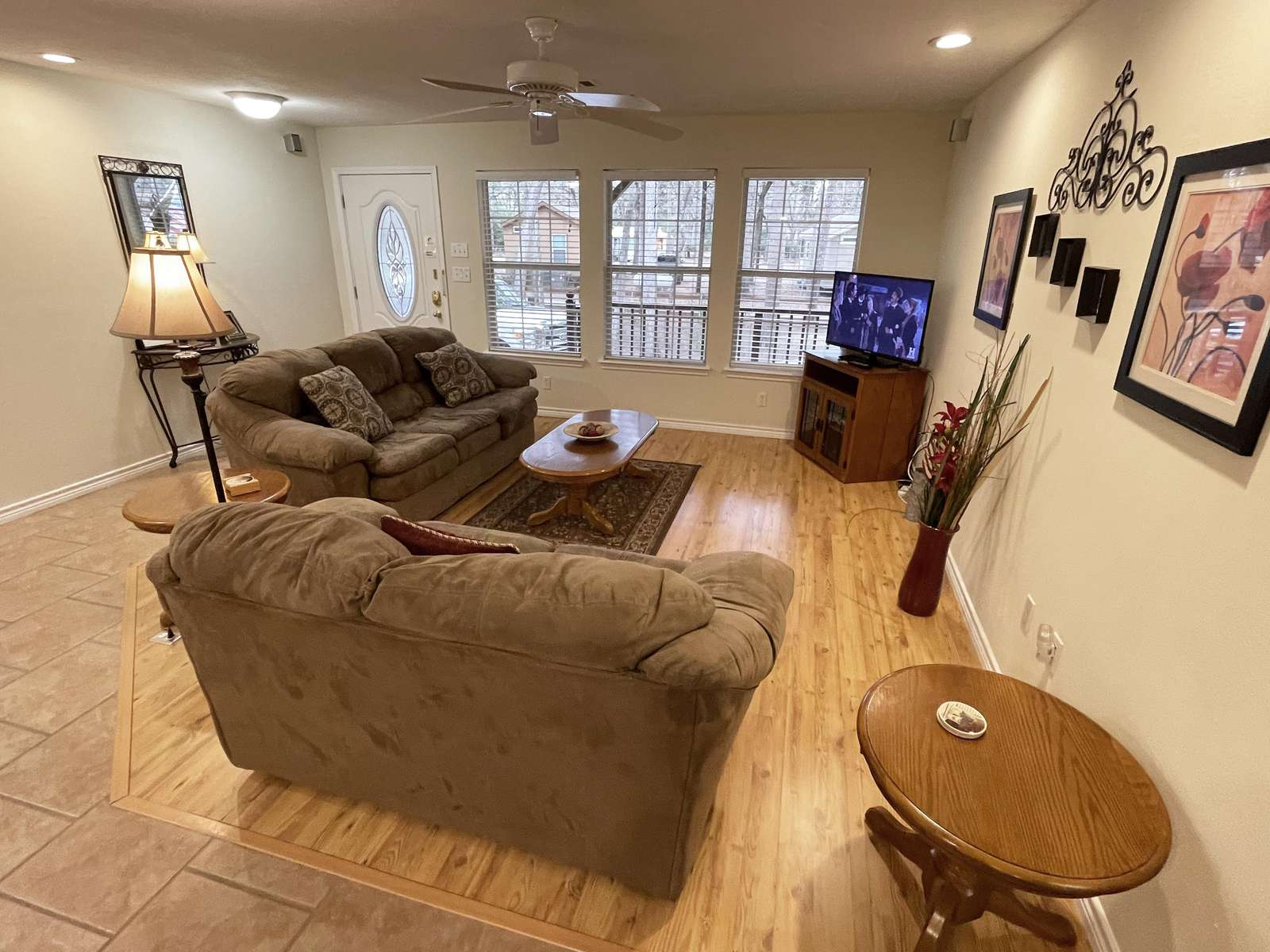 Our Guests enjoy the open floor plan and amenities of the home.