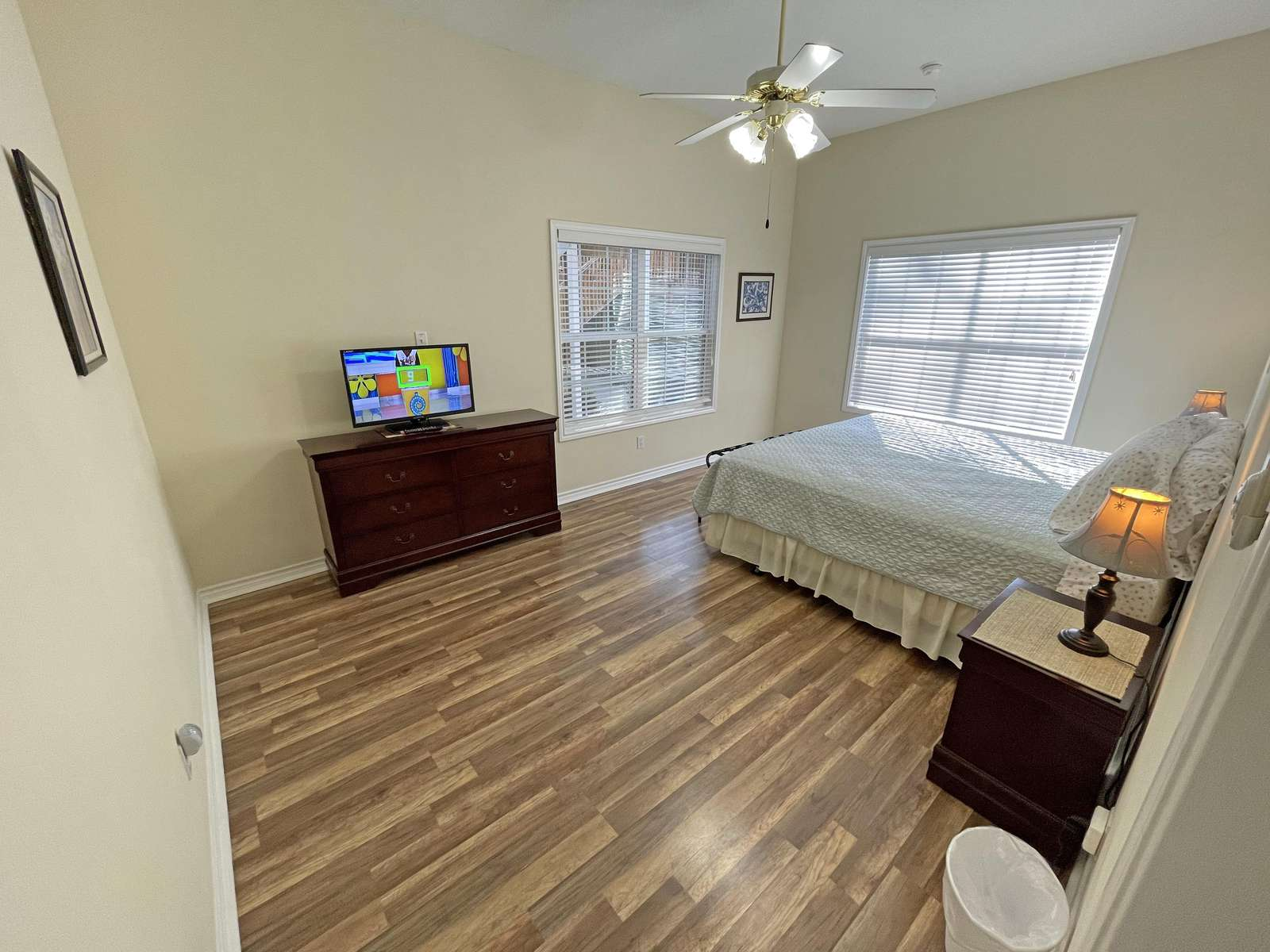 The lower left side front bedroom (from street side)
