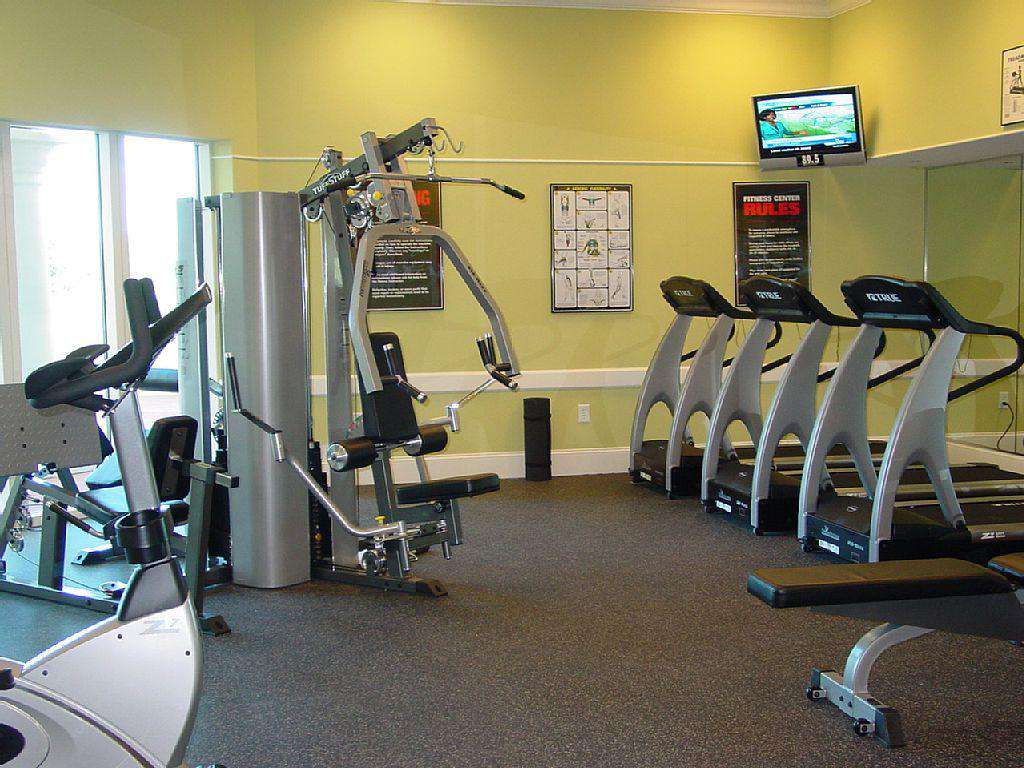 On site fitness center