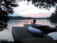 Dock at Sunset thumb