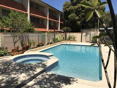 New swimming pool - Rosalie Court