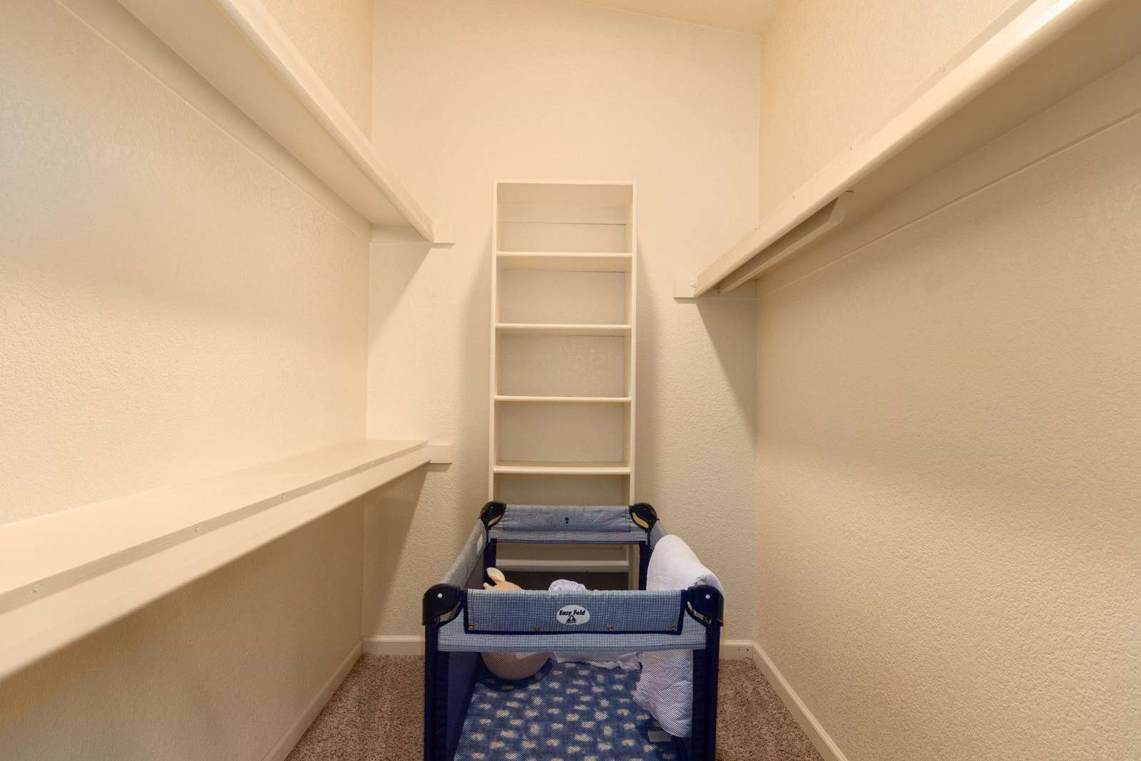Walk In Closet With Pack & Play If Needed.