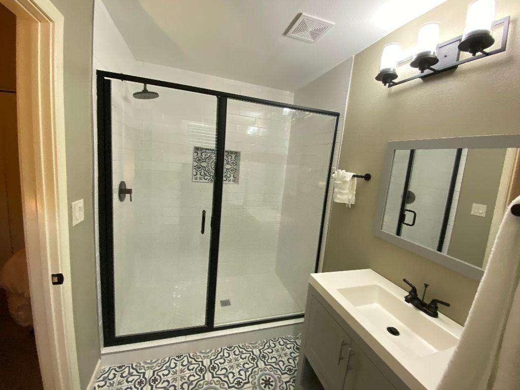 2nd Bedroom Bathroom W/Walk in Shower And Toilet Closet.