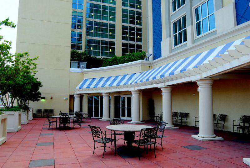 5th floor terrace with wifi