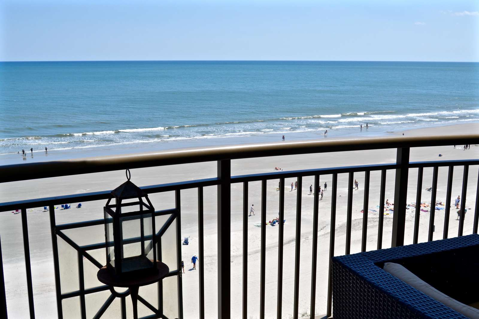 Direct oceanfront, oversized balcony