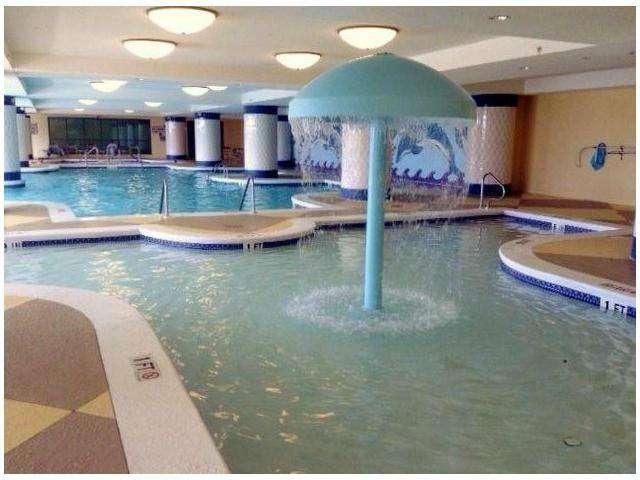 Indoor Pool and kiddie's pool area