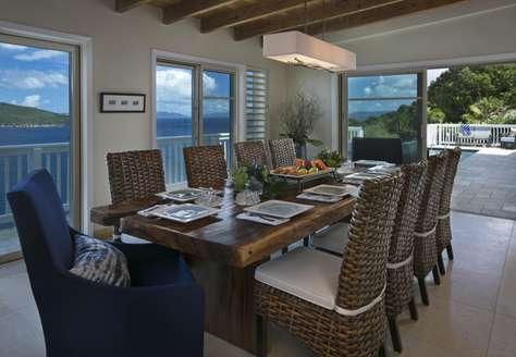 Dining with seating for 10