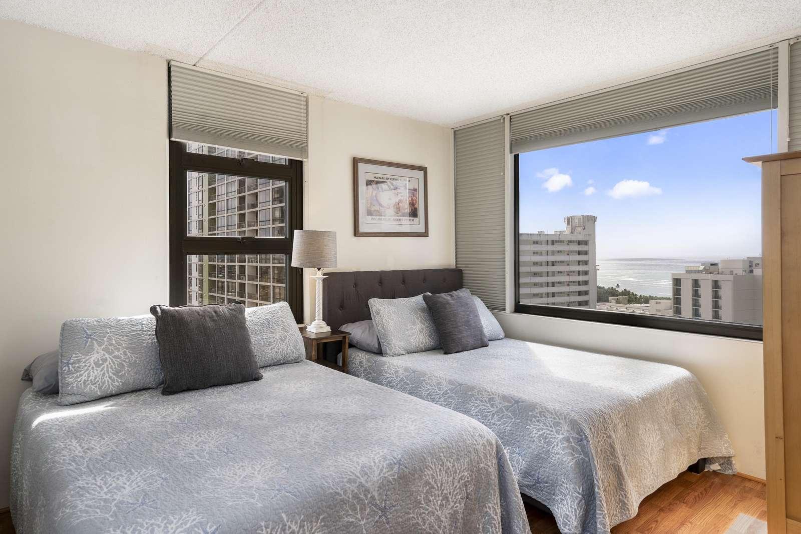 高層階オーシャンビュー 1ベッドルーム