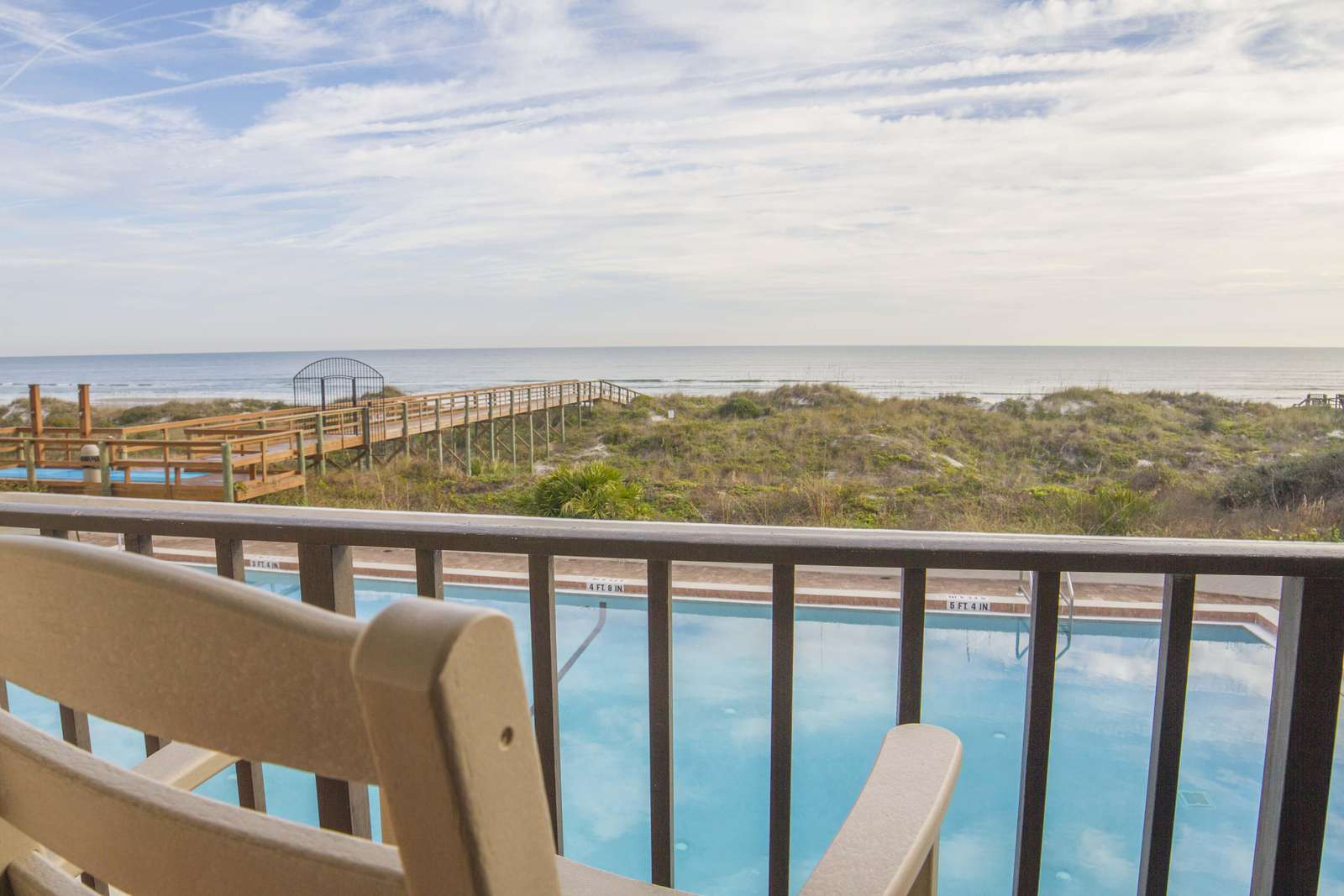 Relax and enjoy the views from your private balcony!