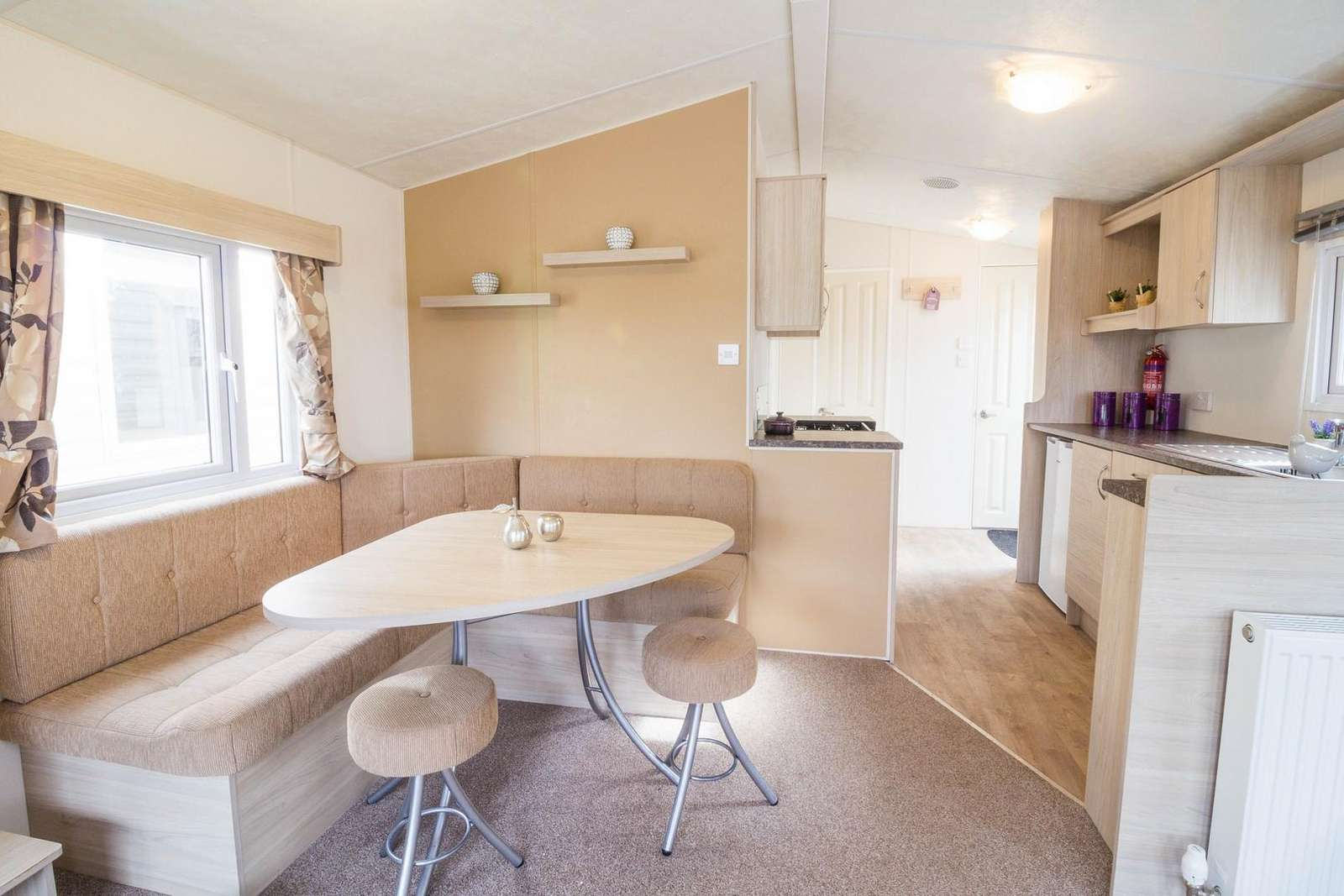 Come and stay in this private accommodation Broadland Sands Holiday Park