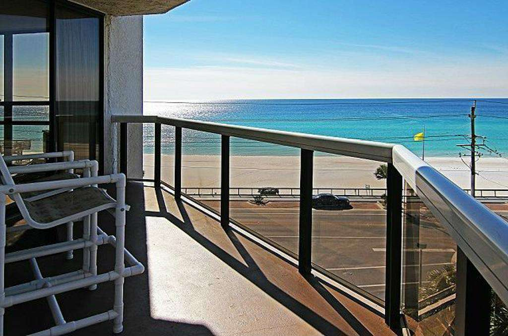This oceanfront condo features panoramic views of the gorgeous Gulf! - property