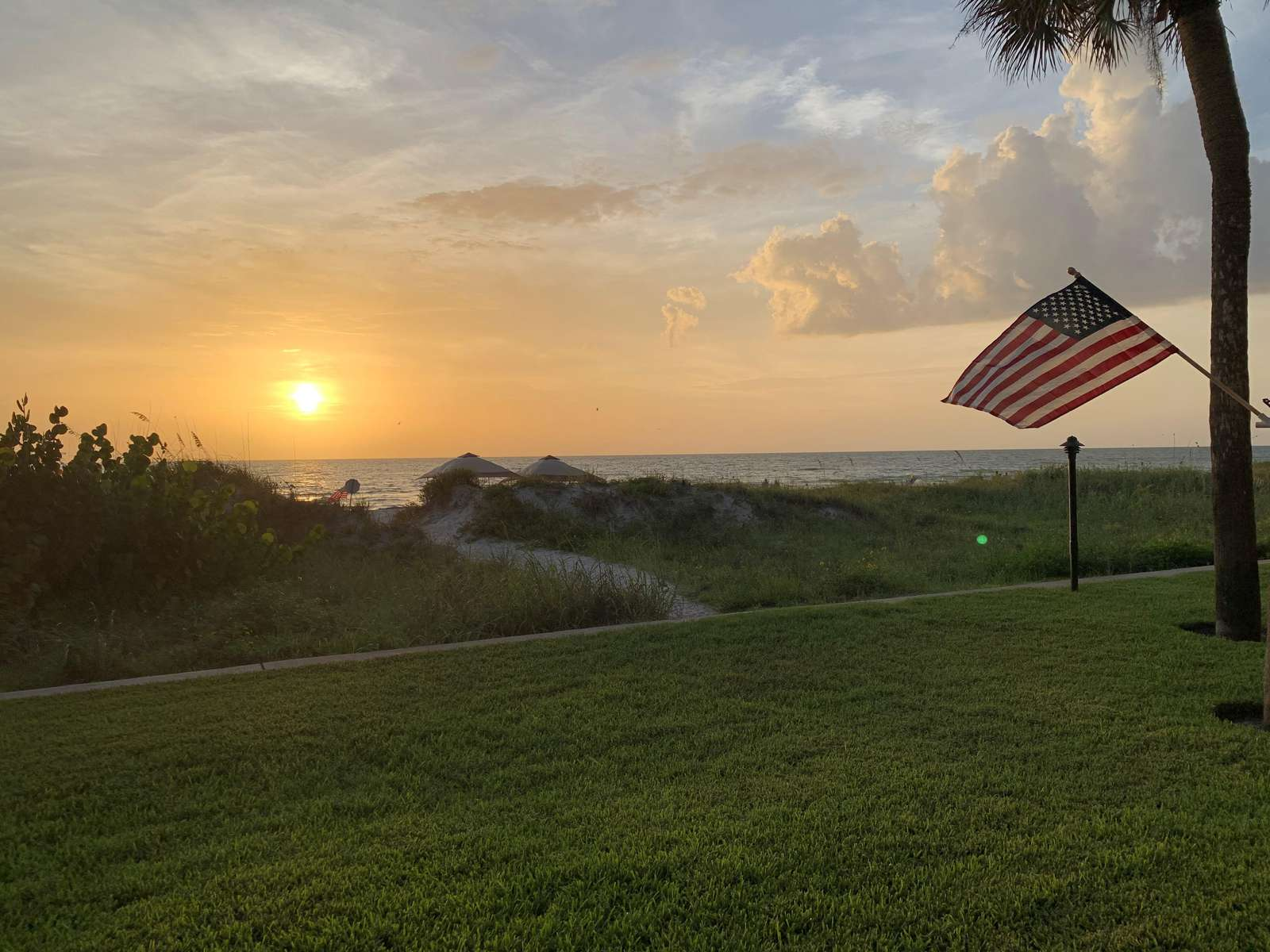 Our gorgeous Sunsets from your patio - property